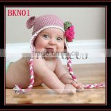 NEWBORN CROCHET BABY HAT TOP HAT