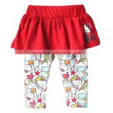 fashion baby girls kitty legging-skirts children leggings and tights wholesale