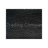 Non Woven Backing Black Faux Upholstery Imitation Leather Fabric Material For Sofa