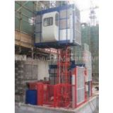 1000kg Twin Cage SC200 Construction Hoist Elevator for Building