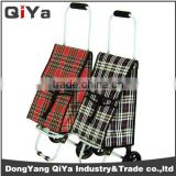 Wholesale Promotional Large Wheeled Folding Shopping Trolley Bags Grocery Vegetable Supermarket Shoping Cart Yiwu Alibaba