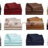 Fashion Design High Quality 100% Bamboo Bed Sheets