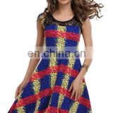 Beautiful wear printed cheap cocktail prom dresses