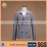 With button women knitted cashmere coat