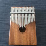 17 Keys Kalimba MBIRA Thumb Piano w/Tune Hammer,Soft Bag-Portable