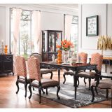 luxury solid wood dining room sets Customizable