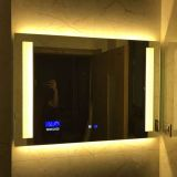 Custom HD smart hotel led bathroom mirror