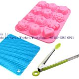 Amazon Hot Sales 100% Food Grade Glass Fiber Cake Silicone Mold Tools whatsapp: +8615992856971
