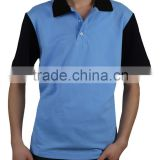 Polo Blue Black shirt 100% cotton high quality fashion tShirt Sleeve polo shirt