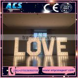 ACS led giant love letter&wedding love letter ideas