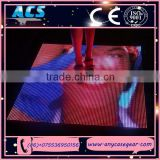 ACS Full Color Stage Rental LED Floor Portable LED Dance Floor P10 LED Floor Mat