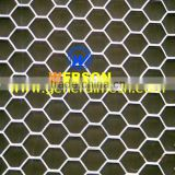 senke hexagonal pattern Expanded Metal Mesh used for Partition wall,outdoor wall