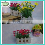 20cm 15heads fabric flowers daisy artificial flower china