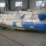 (CE)2012 Hot selling fiberglass floorboard optional colors PVC/Hypalon RIB inflatable boat