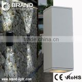 High power square Up And Down led Wall Light outdoor white shell CE/ROHS IP65