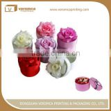 Custom flower box cardboard round