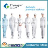 Electric conductive cleanroom garment, high quality and cheap esd apparel