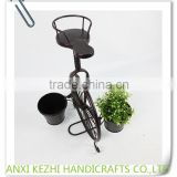 KZ160132 Metal Home Decorative Bicycle/Bike Flower Pot