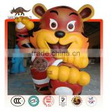Cartoon Tiger Mascot Statue
