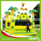 Hot Sale Children Inflatable Trampoline From China Manufacturer LE.CQ.015                                                                         Quality Choice