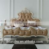 classical style wooden hand-carved bed LZ1211-W3                                                                         Quality Choice