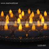 luxury Promotion Battery Operated Flickering LED Tea Light candle holders waterproof LED-003