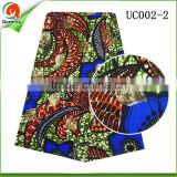 queency fashion wax hollandis fabric textile african wax prints fabric for batik dresses