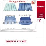 Hot Sale!!! Color Corrugated Metal Sheet For The Roofing Panel / Pre Painted Galvanized Steel Sheet