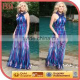 long shiny beach cocktail dress colorful stripe dress rainbow light blue quinceanera dresses cheap women bohemia beach dresses