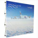 2016 hot sales Fabric Pop Up banner exhibition booth Display