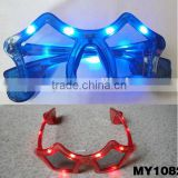 Led Beautiful Funny Sunglasses flashlight glasses color plastic glasses