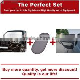 The Perfect Set Front Windshield Sunshade+Rear Window Sunshade+Car Curtain                                                                         Quality Choice