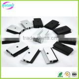 Solar panel thin film mounting frameless module clamp