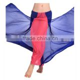 2016 Cheap Chiffon Long Colorful Sexy Belly Dance Skirts for Women Belly Dancing Costume Skirt on Sale
