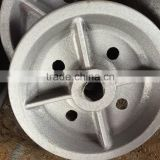 High Quality Casting Steel Crane Trolley Rail Mining Wheel