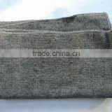 Grey color stitch bonded 50%polyester, 50%recycled cotton wiping rags