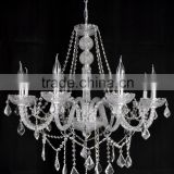 2016 traditional energy-saving bulb glass candle chandelier