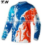 men's sublimation unique style motocross jersey/motorcycle jersey                                                                         Quality Choice