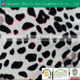 wholesale 100 polyester crystal supersoft printed velvet fabric for baby blanket
