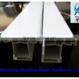 pvc profile of plastic interior door/upvc door and window frames/plastic corner extrusion profile
