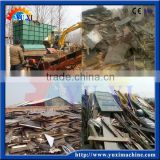2016 new products!scrap wood goods shelf waste template formwork bamboo bracket crusher in construction site