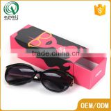Fancy rectangle shape recyclabler sunglass paper box custom made gift boxes with custom logo                                                                                                         Supplier's Choice