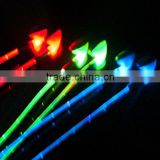 2014 New products glowing in-ear earphone glisten with music LED earphone led light earphones
