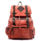 2016 Guangzhou Manufacturer Durable Canvas Travel Backpack Vintage Canvas Backpack Hot Selling