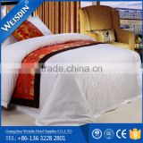 Hot sale new product egpytian cotton jacquard king size bedding set used in hotel bedding,hospital textile product