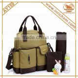Multifunctional Mummy bag baby Fashion Baby Diaper Nappy Backpack                                                                         Quality Choice