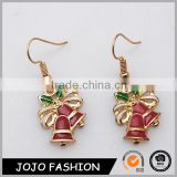 Custom Design Christmas Jewelry Bell Chirstmas Earring
