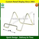 Wire Easel Display Stand Plate Holders - Smooth Brass Metal YM1-997                                                                         Quality Choice