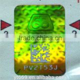 the newest qr code & serial number 3d hologram sticker                                                                         Quality Choice