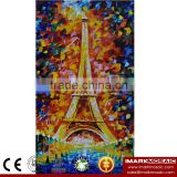 IMARK New Design Eiffel Tower Pattern Mosaic Mural/Picture Pattern Mosaic/Hand Cut Mosaic Tile For Wall Decoration